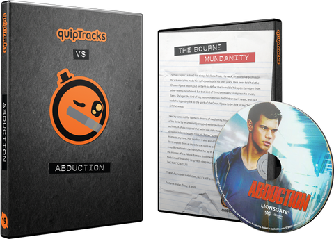 Abduction DVD w/ Custom Case