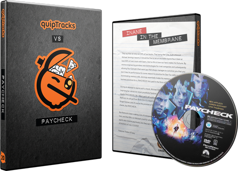 Paycheck DVD w/ Custom Case