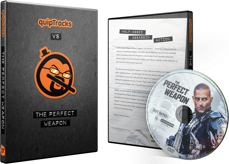 Perfect Weapon, The (2016) DVD w/ Custom Case