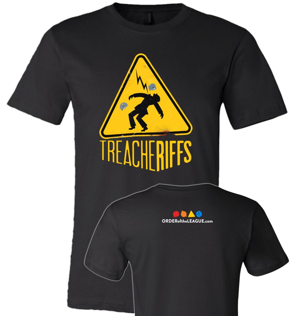 TreacheRiffs Logo Tee