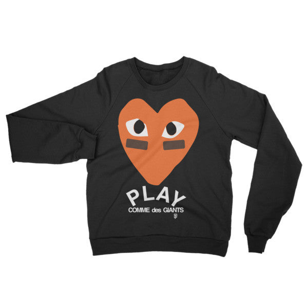Play Like the Giants Crewneck Sweater in black