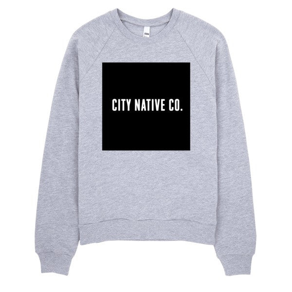 The City Native Co. Logo Raglan sweater
