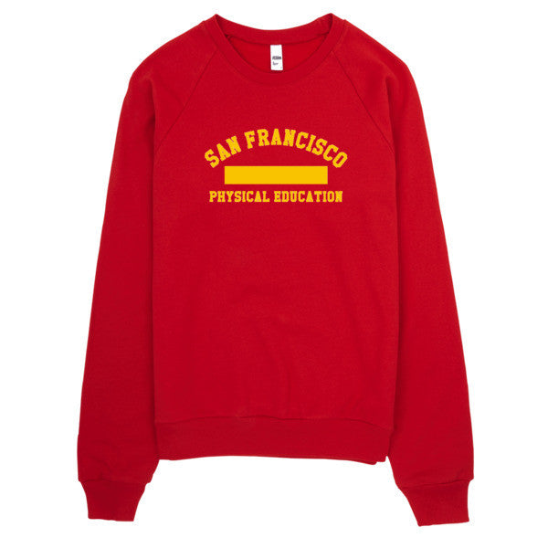San Francisco PE Kit Raglan sweater