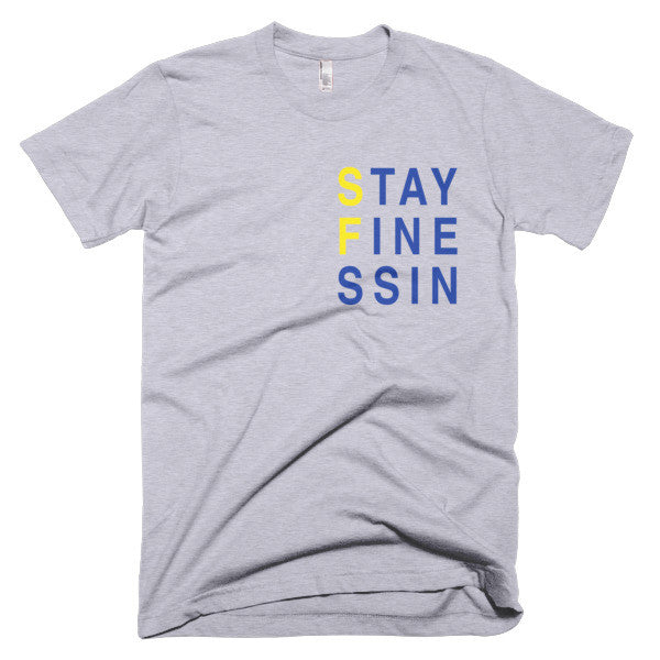 Stay Finessing Bay Area Warriors Tee in White