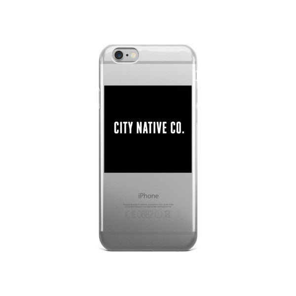 City Native Co. iPhone case
