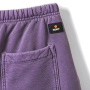 MEMOIR Sweatshort - Washed Purple - Back Detail