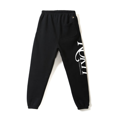 ROKIT black sweatpants with Wild logo - Back