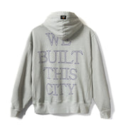 CONSTRUCT Pullover Hoodie - Washed Grey - Back