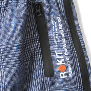 ROKIT Sunset Nylon Pant - Plaid - POCKET DETAIL
