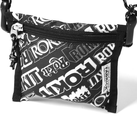 Medicom Toy Fabrick x Rokit 2-Way Pouch - Black