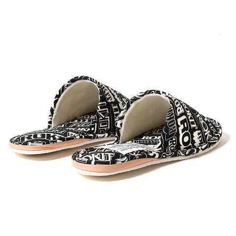 Medicom Toy Fabrick x Rokit Slippers - Black