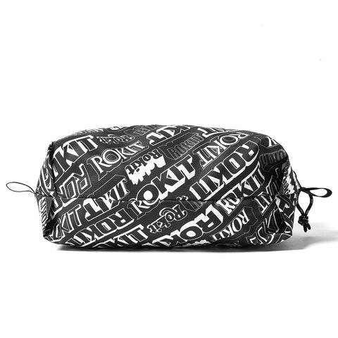 Medicom Toy Fabrick x Rokit Light Zip Pouch - Black