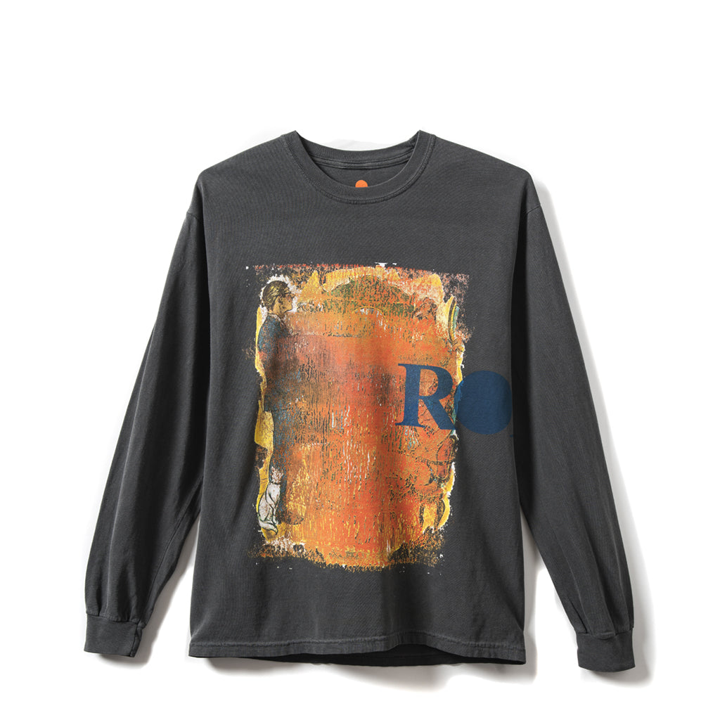 Rokit Coverup Long Sleeve Tee Shirt - Black