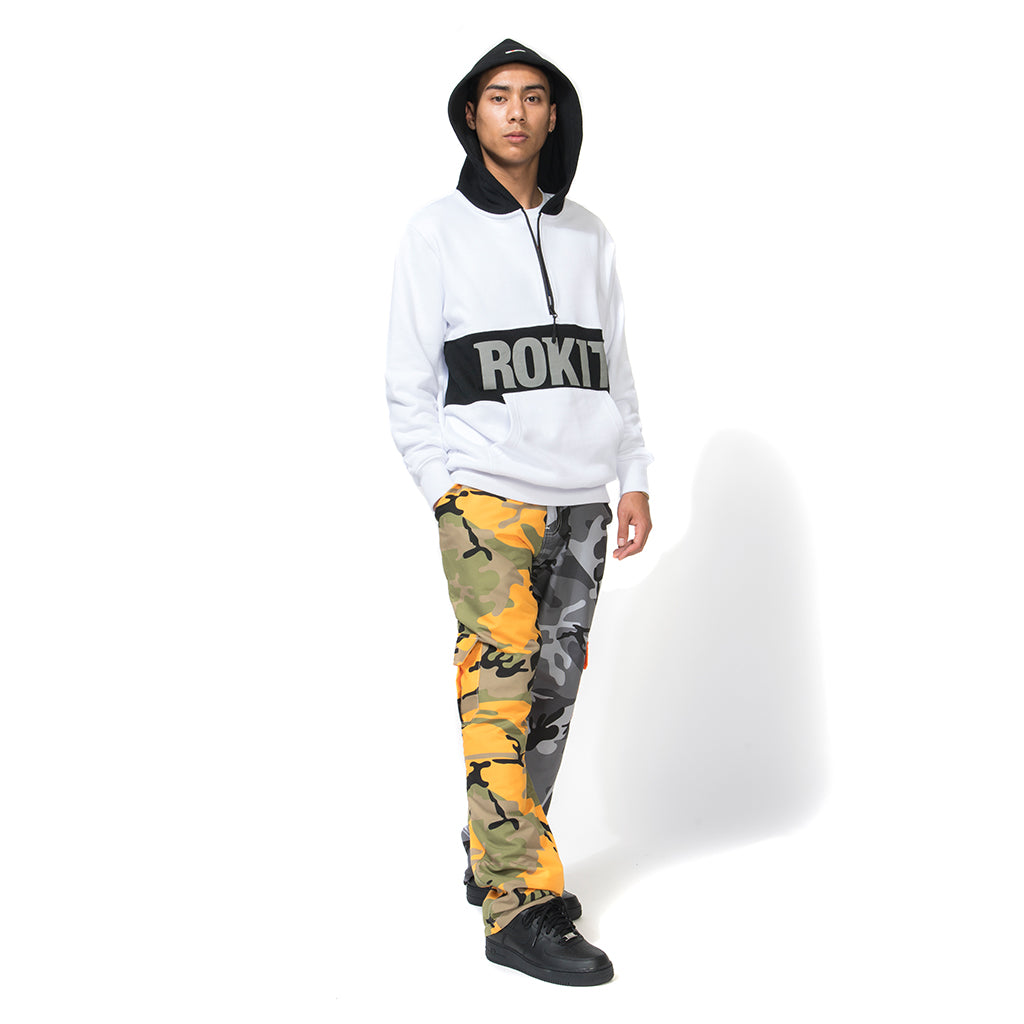 Rokit Socom Two Tone Pant - Yellow