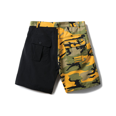 Rokit Playoff Two Tone Shorts - Yellow