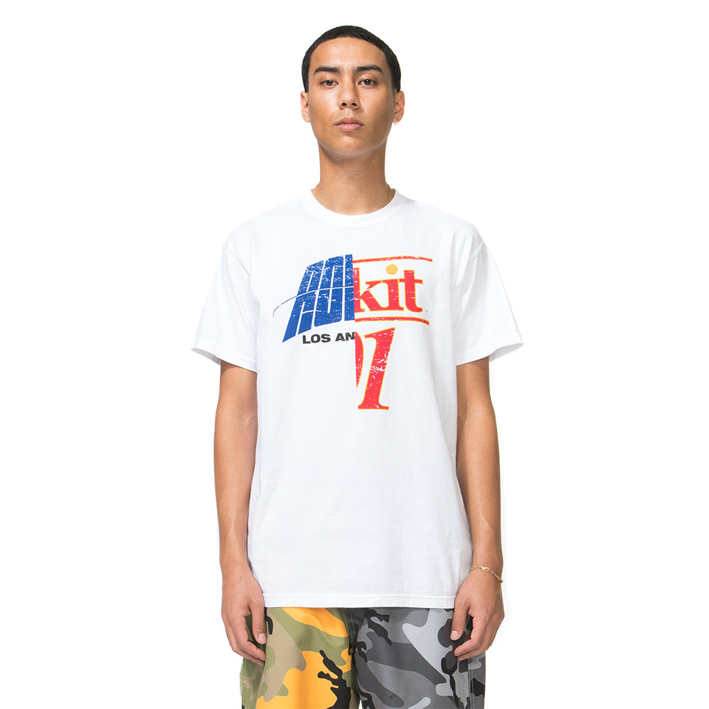 Throwback SS Tee - White