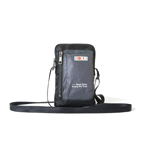 Rokit Grid Side Bag - Black