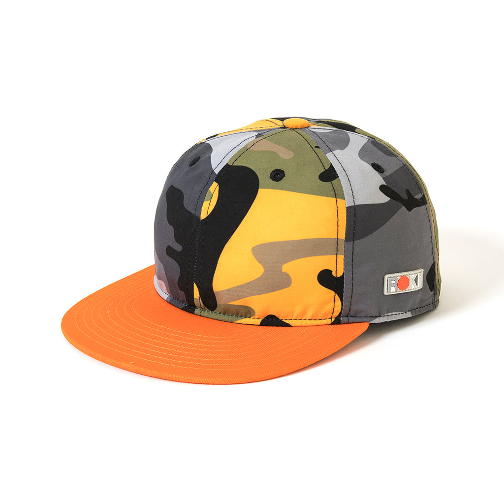 Rokit Peewee Six Panel Hat - Orange