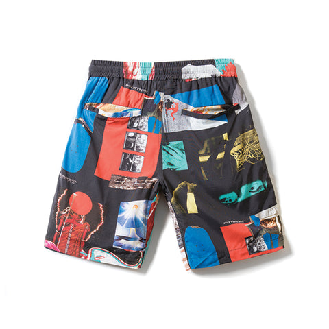 Rokit DNA Woven Shorts - Black