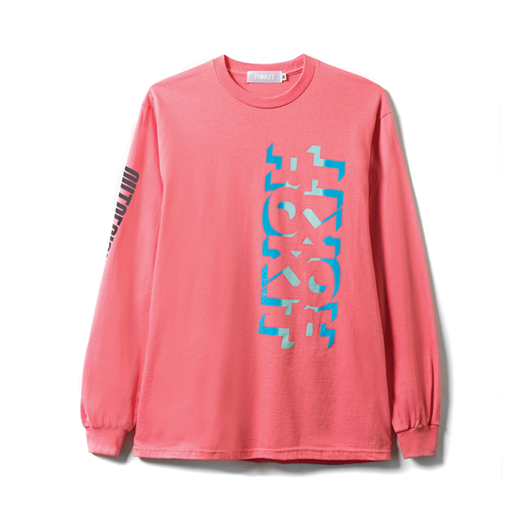 Rokit Outtasight LS Tee - Sunset