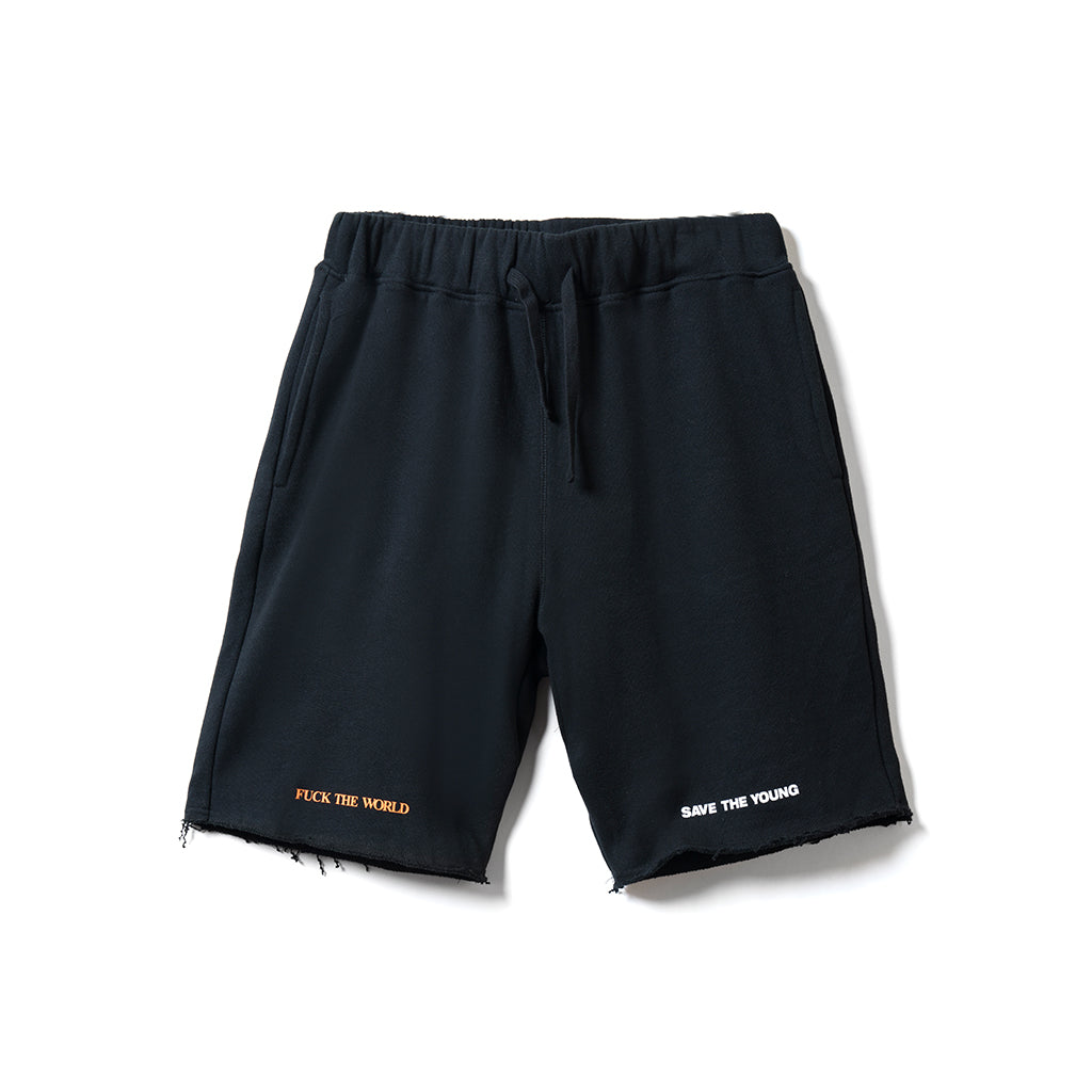 Split Shorts - Black