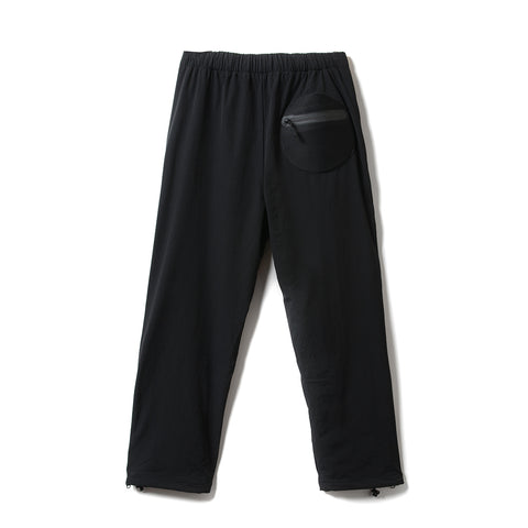 Brigade Zip Trackpants - Black
