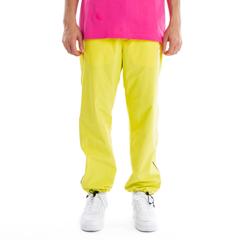 Brigade Zip Trackpants - Yellow