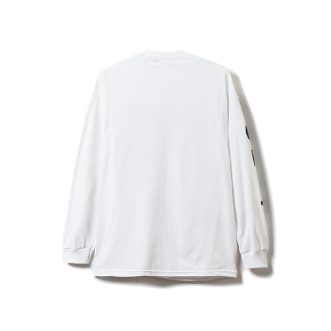 Ceasefire LS Tee - White