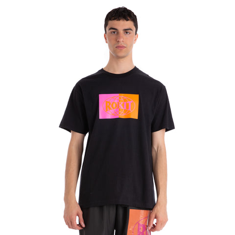Rokit Global SS Tee - Black