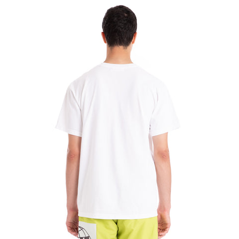 Rokit Global SS Tee - White