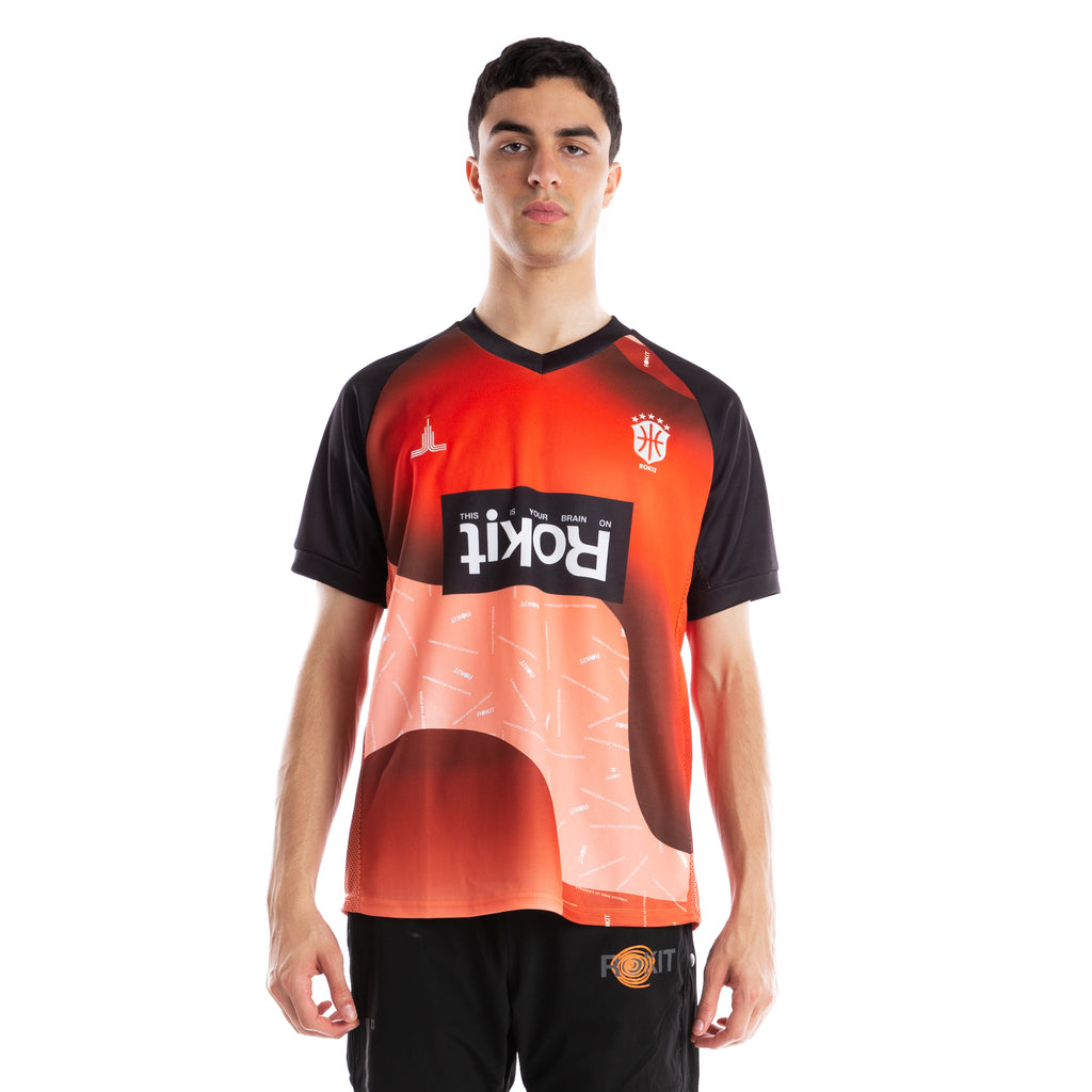 ROKIT Lava Athletic Jersey - Orange