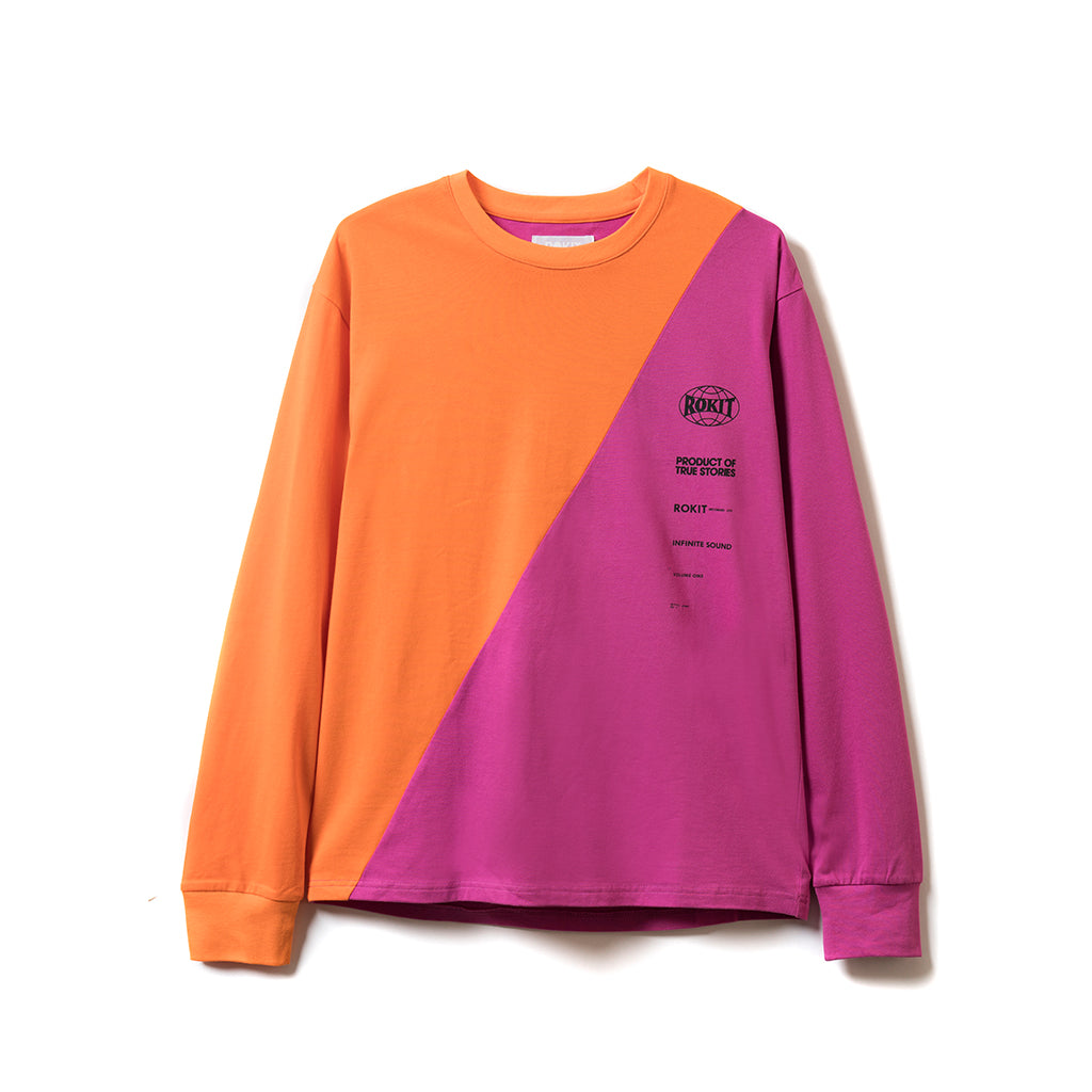 Slasher LS Tee - Orange
