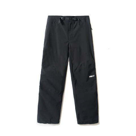 Switch Zip Up Pants - Black