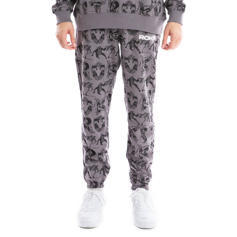 ROKIT Mixtape Sweatpants - Grey
