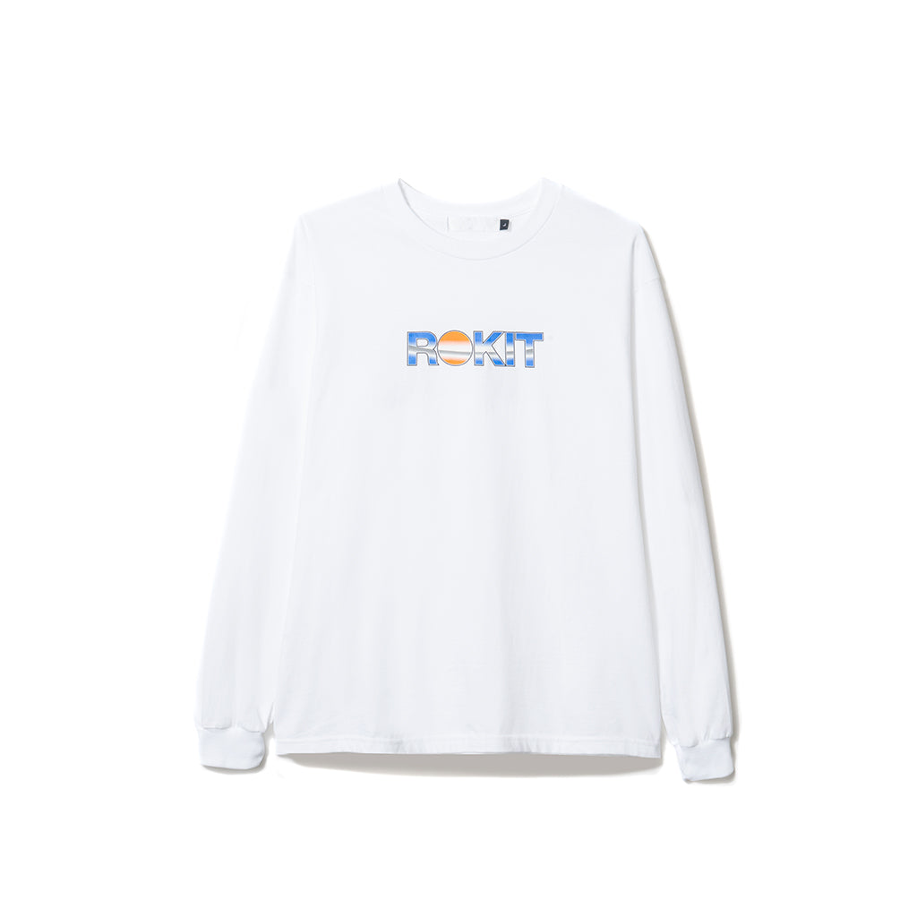 Ornament LS Tee - White