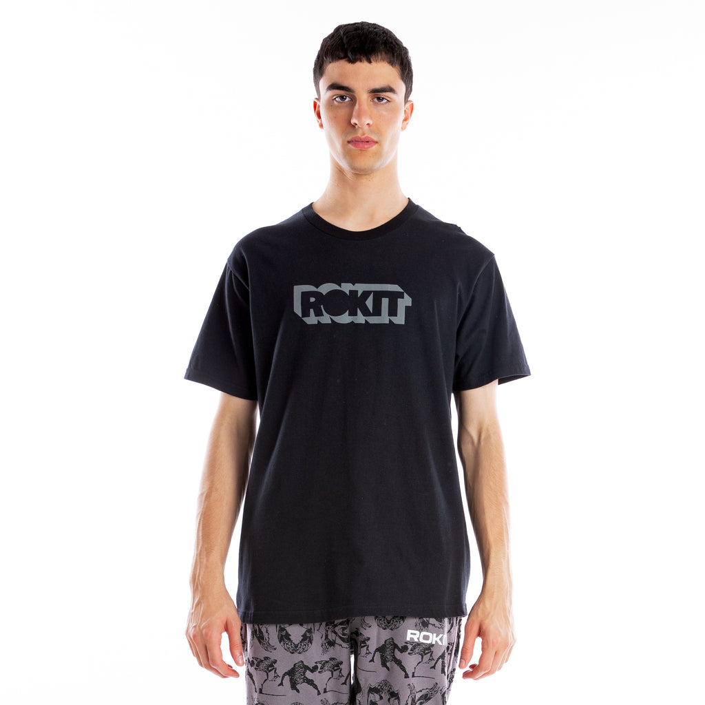 Depth SS Tee - Black