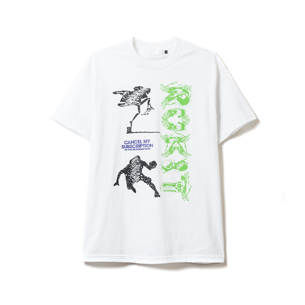 Subscription SS Tee - White