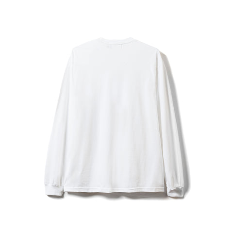 Descent LS Tee - White