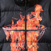 Halftime Bubble Jacket - Black