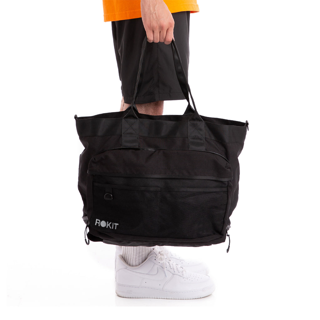 Grip Tote Bag - Black