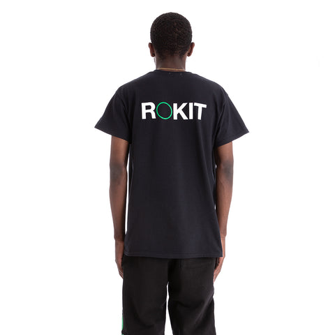 Rokit Basis SS Tee - Black