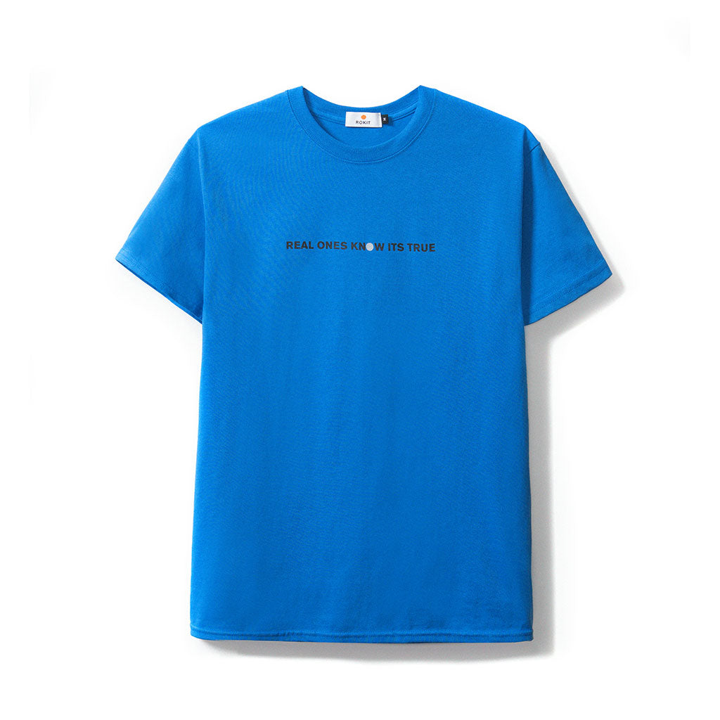 Rokit Basis SS Tee - Blue