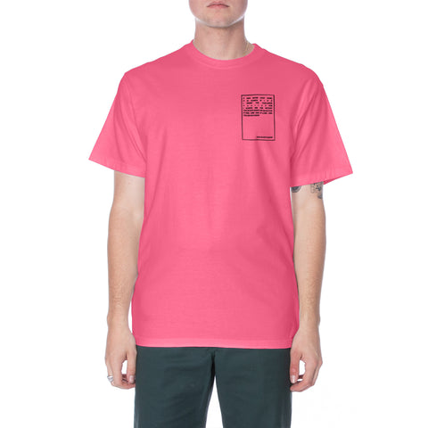Solar SS Tee - Pink