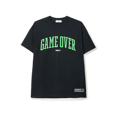 Rokit Game Over SS Tee - Black