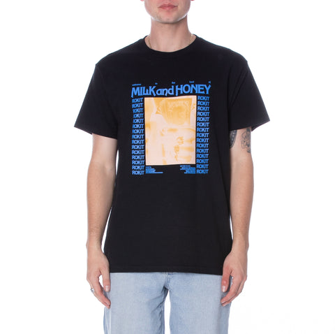 Milk And Honey SS Tee - Black