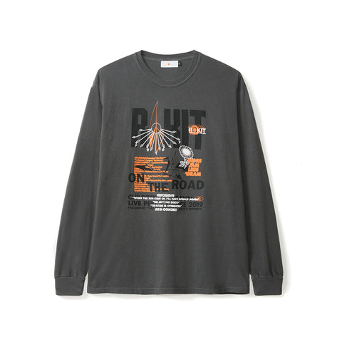Tour LS Tee - Pepper