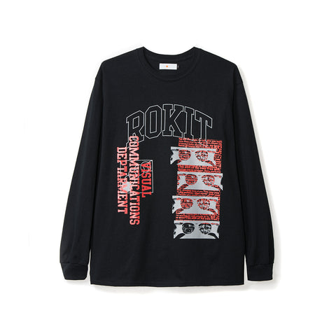 ROKIT Free Will LS Tee - Black