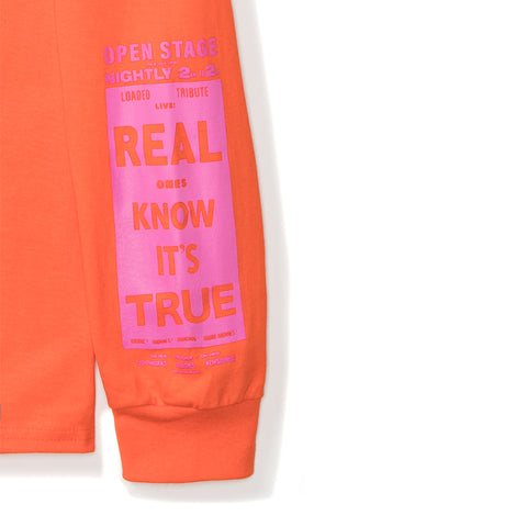 Sweet Nuthin LS Tee - Orange