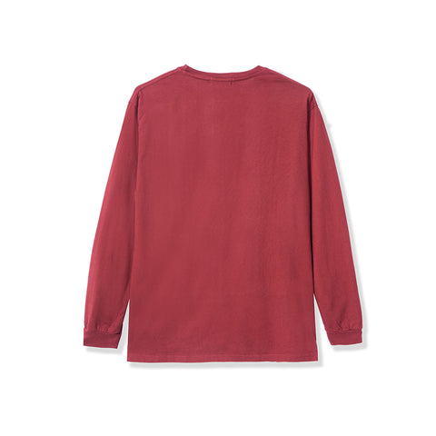 Spectacle LS Tee - Burgundy