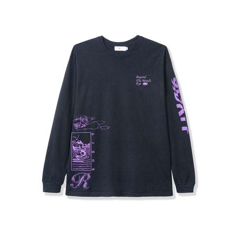 Minds Eye LS Tee - Black